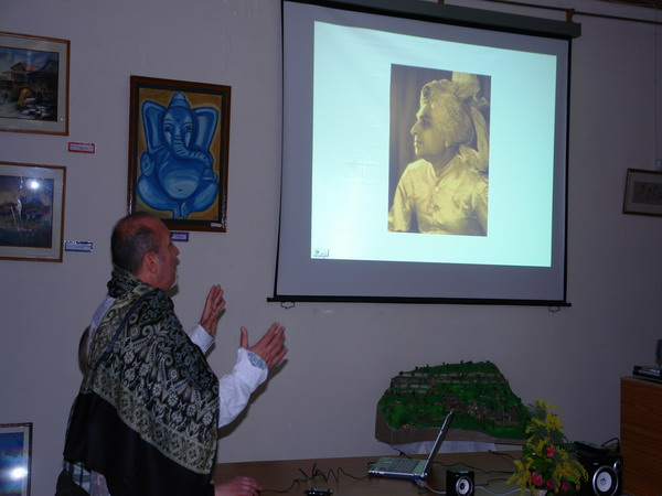 Peter Dietze talks on Himanshu Rai