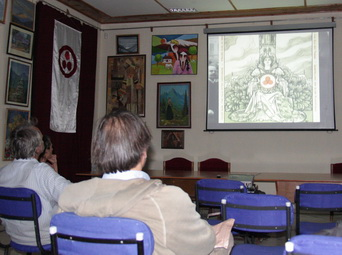 Screening of a documentary film by Valeriy Shatin, Russia, dedicated to the Roerich Banner of Peace: