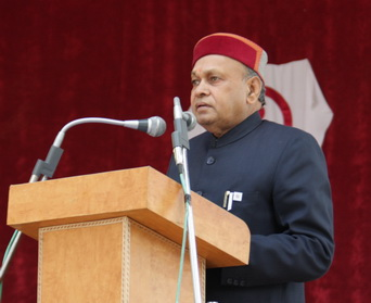 and Sh. P.K.Dhumal, CM of Himachal Pradesh