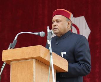 and Sh. P.K.Dhumal, CM of Himachal Pradesh
